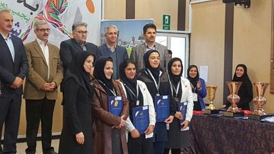 قهرمانی همکار آب منطقه ای گیلان در مسابقات سراسری انفرادی شطرنج بانوان وزارت نیرو