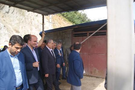 بازدید دکتر نوبخت از مراحل ساخت پروژه سد مخزنی پلرود